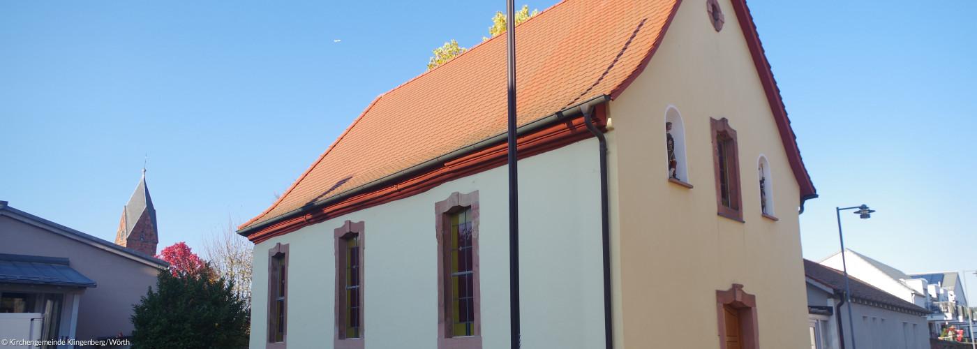 Wendelinus-Kapelle total